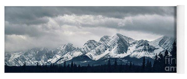 Mountainscape Yoga Mat