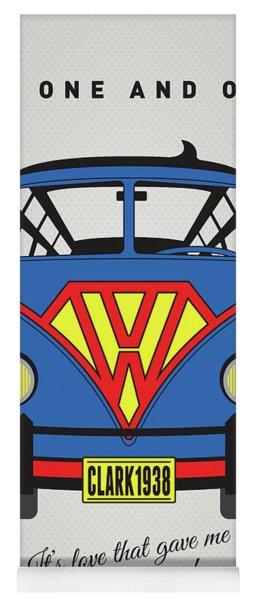 My Superhero-vw-t1-superman Yoga Mat