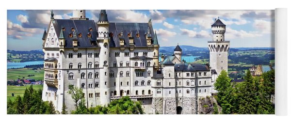 Neuschwanstein Castle Yoga Mat