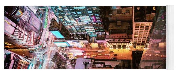 New York City - Night Yoga Mat