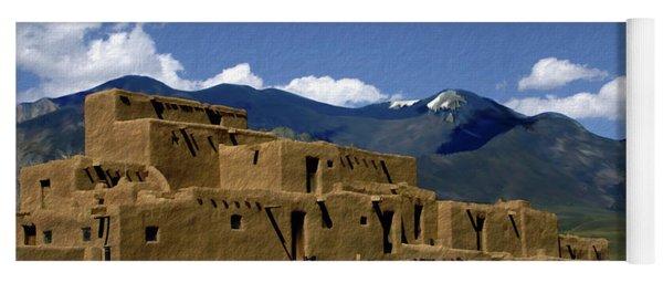 North Pueblo Taos Yoga Mat