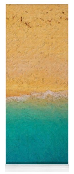 Not Quite Rothko - Surf And Sand Yoga Mat