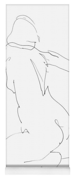 Nude Female Drawings 8 Yoga Mat