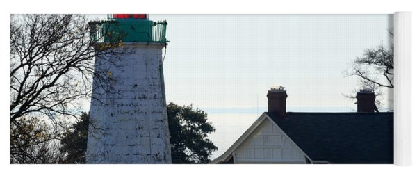 Old Point Comfort Lighthouse Yoga Mat