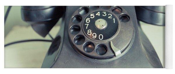 Old Telephone Square Yoga Mat