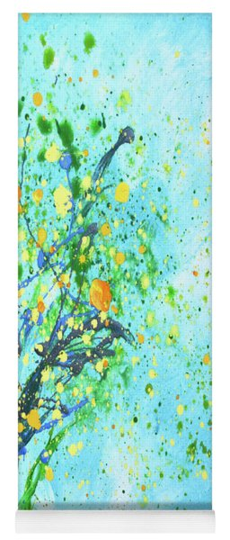 Orange Tree Yoga Mat
