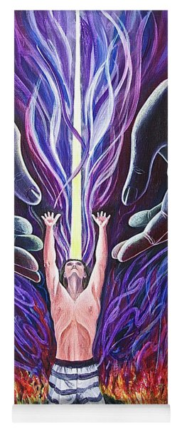Out Of The Ashes Yoga Mat