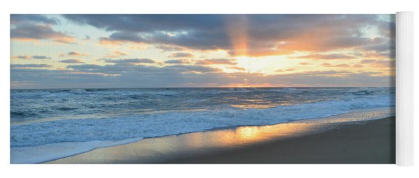 Outer Banks Sunrise  Yoga Mat