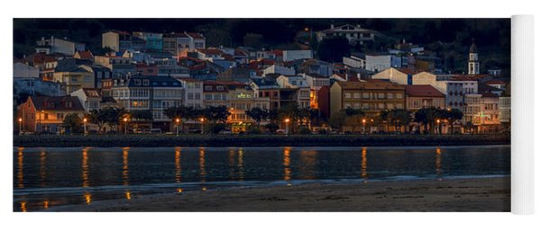 Panorama Of Cedeira Galicia Spain Yoga Mat