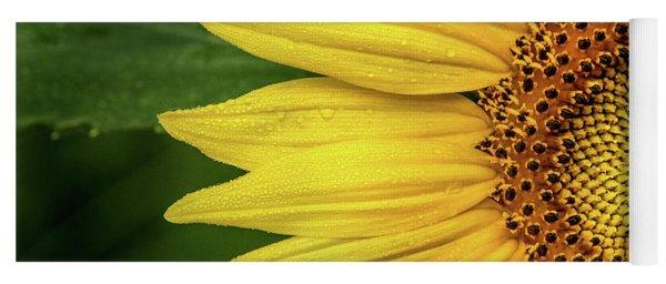 Partial Sunflower Yoga Mat