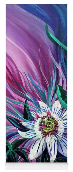 Passion Flower Yoga Mat