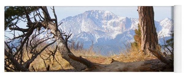Pikes Peak And Trail To Bald Mountain Yoga Mat