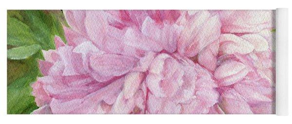 Pink Peony Yoga Mat