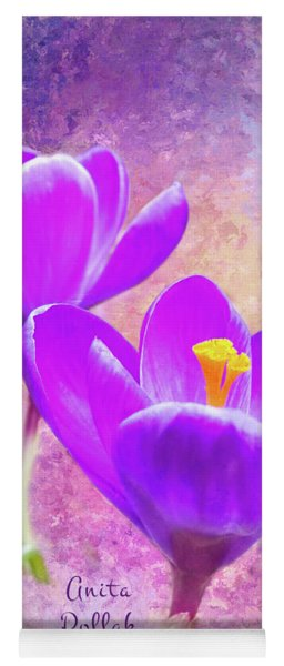 Our First Crocuses This Spring Yoga Mat