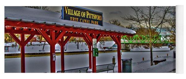 Pittsford Canal Park Yoga Mat