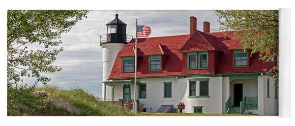 Point Betsie Lighthouse Yoga Mat