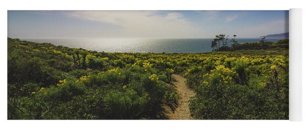 Point Dume Spring Wildflowers Yoga Mat