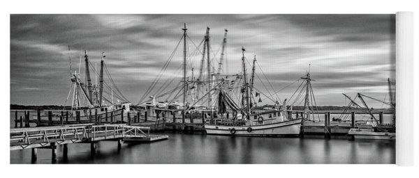 Port Royal Shrimp Boats Yoga Mat