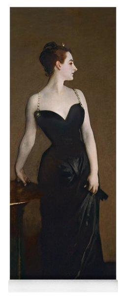 Portrait Of Madame Gautreau Yoga Mat
