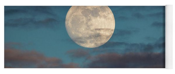 Prelude To The Supermoon Yoga Mat