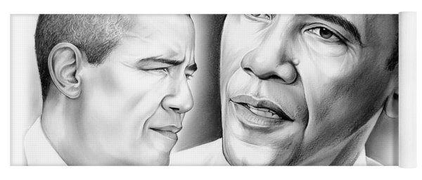President Barack Obama Yoga Mat