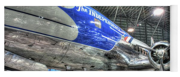 Presidential Aircraft - Douglas Vc-118, The Independence  Yoga Mat