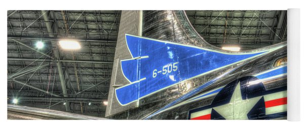 Presidential Aircraft - Douglas Vc-118, The Independence - Tail Section  Yoga Mat