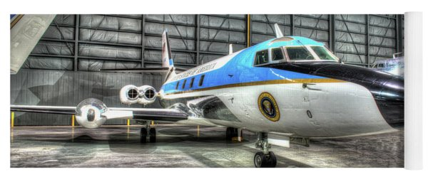 Presidential Aircraft - Lockheed, Vc-140b Jetstar  Yoga Mat