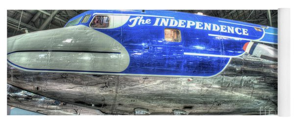 Presidential Aircraft - The Independence, Douglas, Vc-118  Yoga Mat