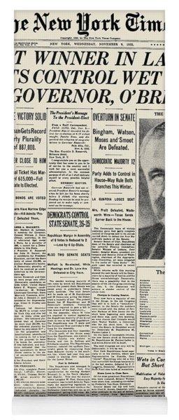 Presidential Campaign, 1932 Yoga Mat