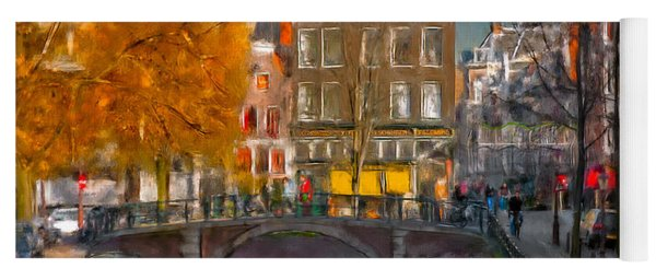 Prinsengracht 807. Amsterdam Yoga Mat