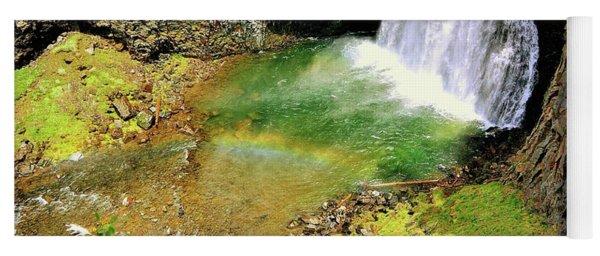 Rainbow Falls 22 Yoga Mat