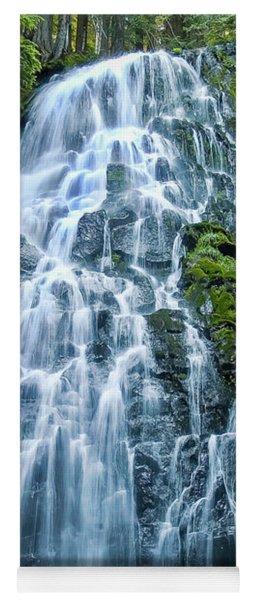 Ramona Falls Cascade Yoga Mat
