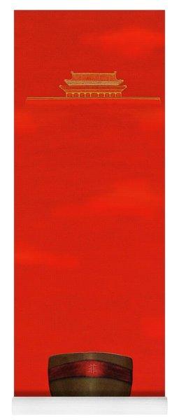 Red Impression Yoga Mat