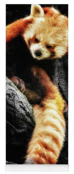 Red Panda Yoga Mat