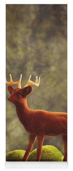 Reindeer Animal Figure Yoga Mat