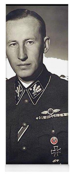 Reinhard Heydrich Circa 1940 Color Added 2016 Yoga Mat