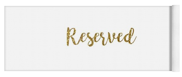 Reserved Yoga Mat
