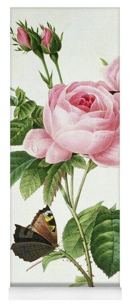 Rosa Centifolia Yoga Mat