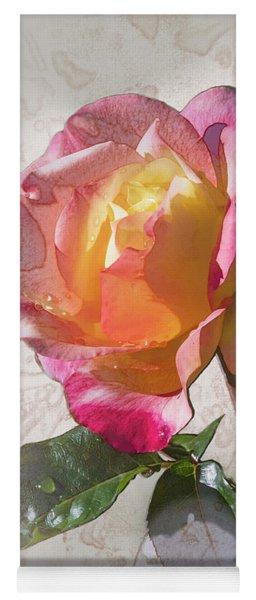 Rosa, 'glowing Peace' Yoga Mat