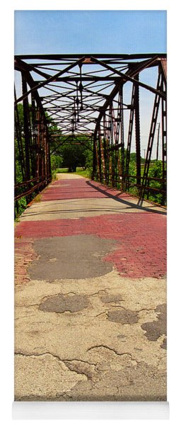Route 66 - One Lane Bridge Yoga Mat
