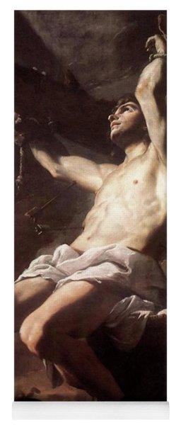 Saint Sebastian By Mattia Preti Yoga Mat