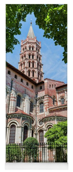 Saint Sernin Basilica Yoga Mat
