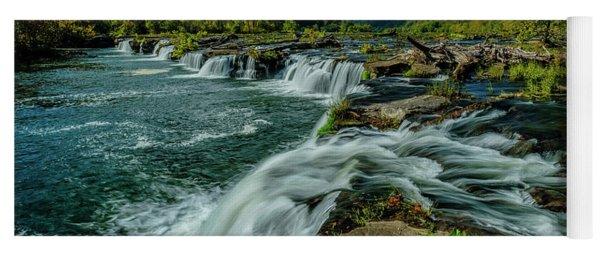 Sandstone Falls New River Yoga Mat