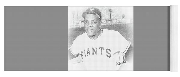 Willie Mays Yoga Mat