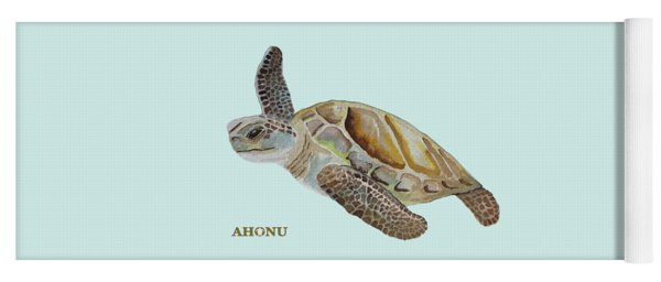 Sea Turtle Yoga Mat