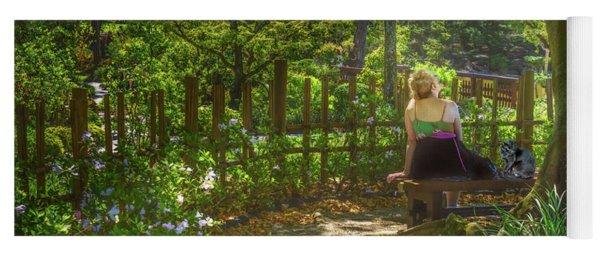 Secret Garden Yoga Mat