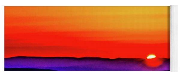 Shenandoah Valley Sunset Yoga Mat