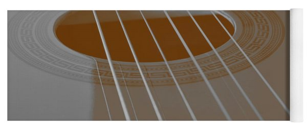 Six Guitar Strings Yoga Mat