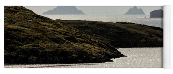 Skellig Islands, County Kerry, Ireland Yoga Mat